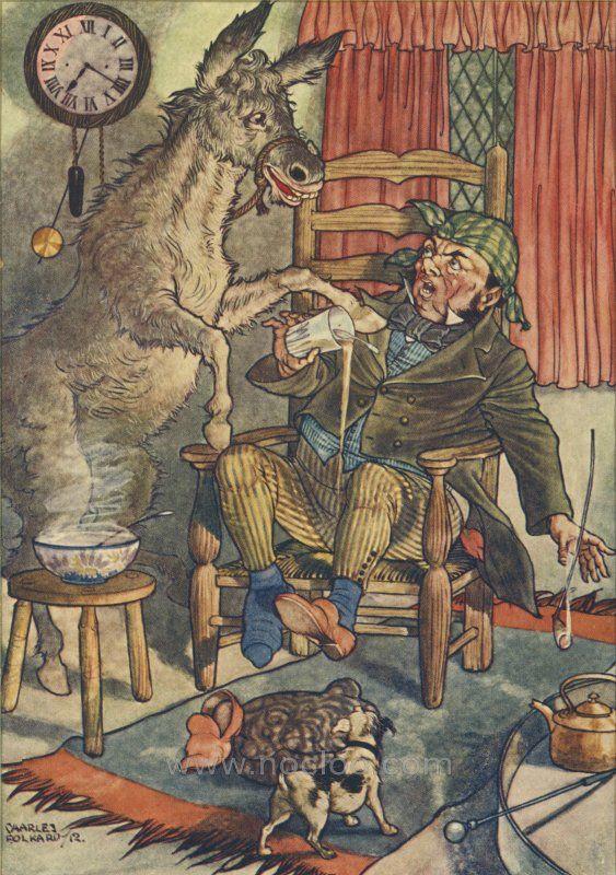El burro y el perro