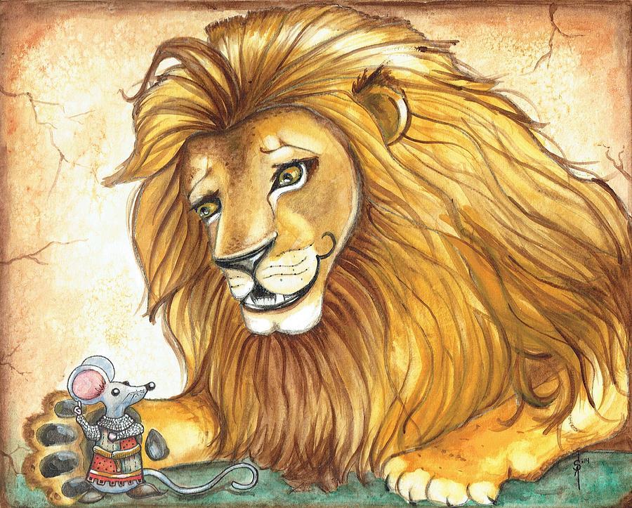 El raton y el leon, una fábula esopo famosa