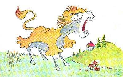 El asno y la piel del leon
