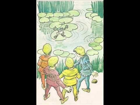 Los niños y las ranas