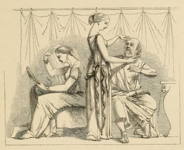 El hombre y sus 2 esposas fabula