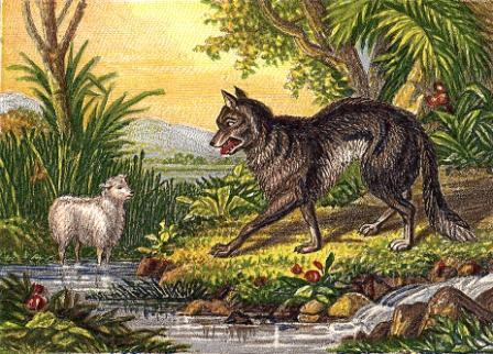 fabula el cordero y el lobo