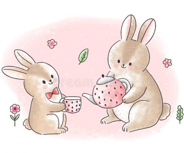Fabula los dos conejos