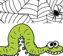 fabula el gusano y la araña