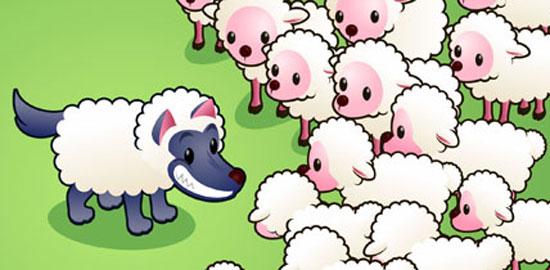 Fabula El lobo con piel de oveja