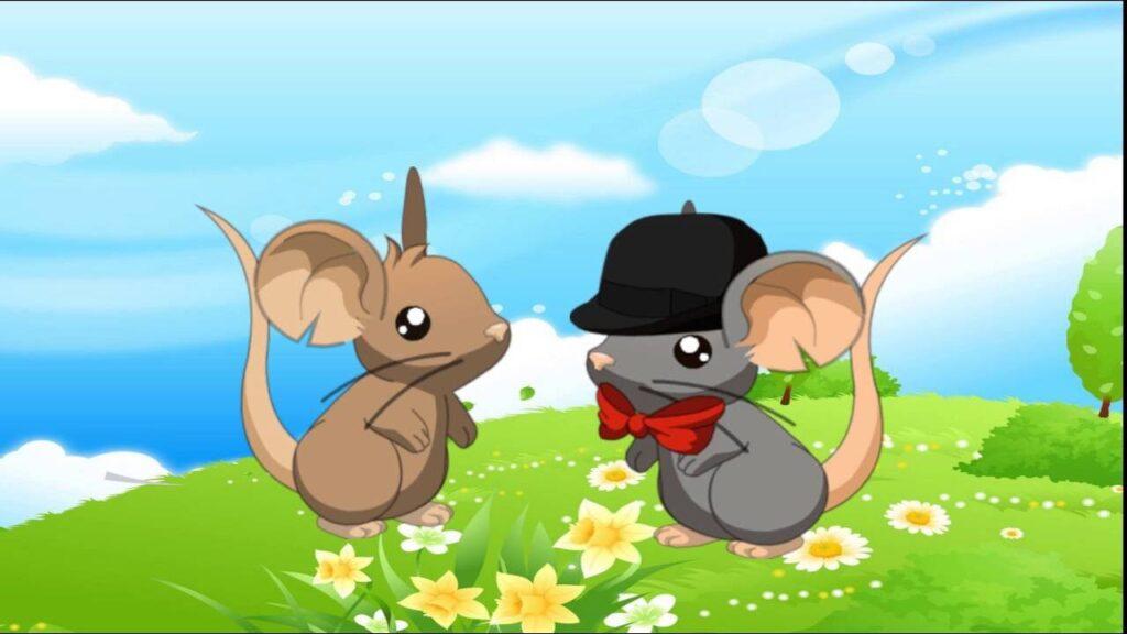 fábula ratón campesino y ratón cortesano