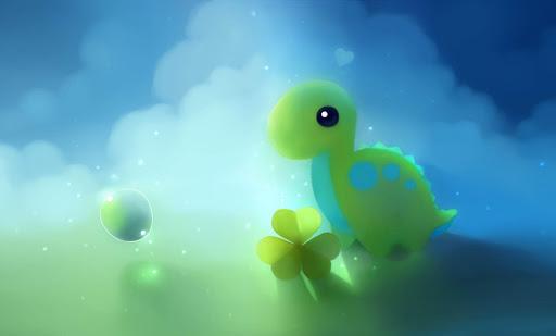 Dinosaurio verde